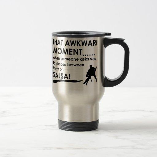 cool salsa designs mug