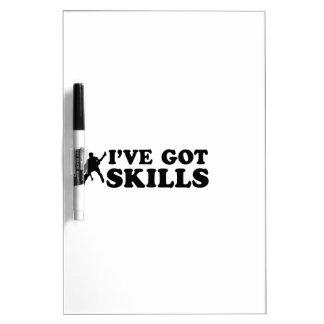 Cool salsa skills designs dry erase whiteboards
