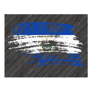 Cool Salvadoran flag design Postcard