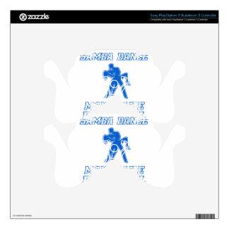 Cool SAMBA dance designs PS3 Controller Decal