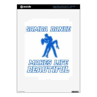 Cool SAMBA dance designs Skin For iPad 3