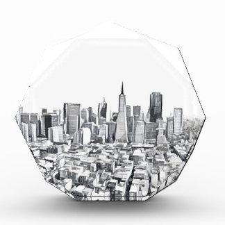 Cool San Francisco SF Citiscape Acrylic Award