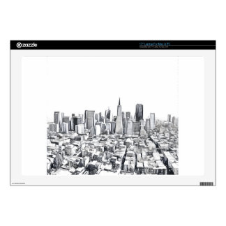 Cool San Francisco SF Citiscape Decal For Laptop