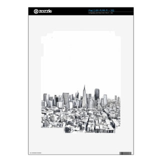 Cool San Francisco SF Citiscape Decal For The iPad 2