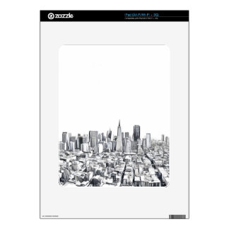 Cool San Francisco SF Citiscape Decals For The iPad