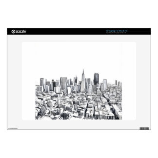 Cool San Francisco SF Citiscape Laptop Skin