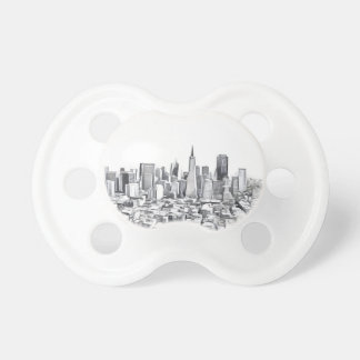 Cool San Francisco SF Citiscape Pacifier