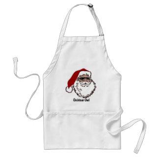 Cool Santa Adult Apron