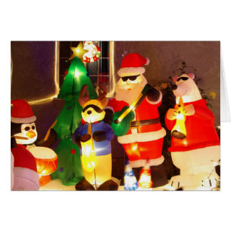 Cool Santa Christmas card