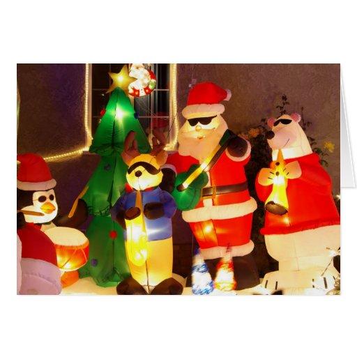 Cool Santa Christmas Card Zazzle
