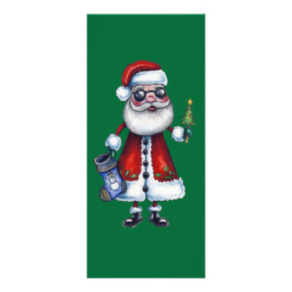 Cool Santa Claus Personalized Rack Card
