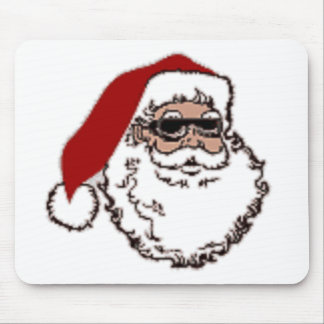 Cool Santa Mouse Pad