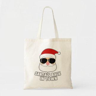 Cool Santa's Back In Town Tote Bag