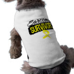 Cool Sarcoma Survivor Dog Clothing