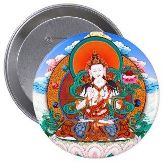 Cool Sarvanivarana Viskambhin Bodhisattva Mahasat Button