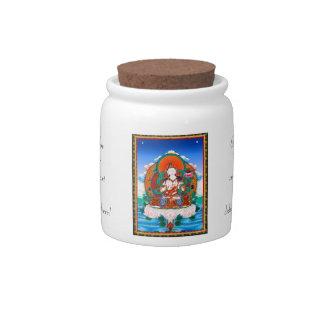 Cool  Sarvanivarana Viskambhin Bodhisattva Mahasat Candy Jars