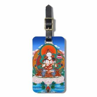 Cool Sarvanivarana Viskambhin Bodhisattva Mahasat Luggage Tag