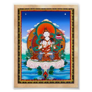 Cool Sarvanivarana Viskambhin Bodhisattva Mahasat Poster
