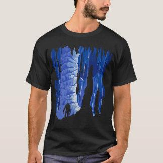 Cool Sasquatch in Cave Art T-Shirt