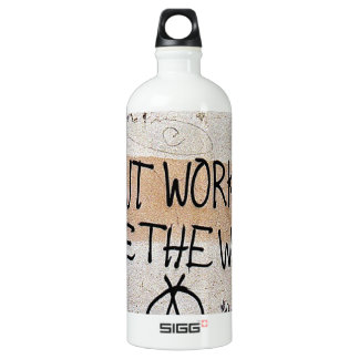 Cool Sayings: Don't Work - See The World SIGG Traveler 1.0L Water Bottle