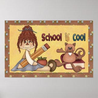 Cool School Poster