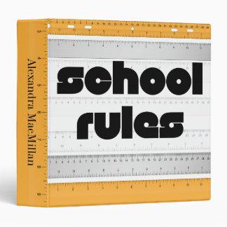 Cool School Rules Binder