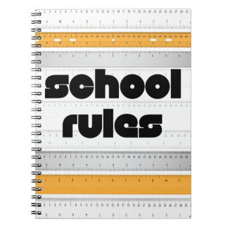 Cool School Rules Notebook