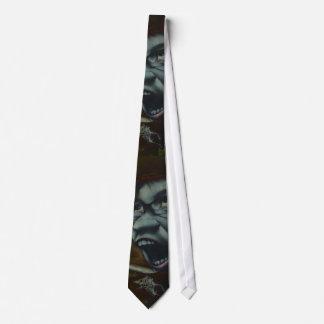 Cool Screm graffiti Tie