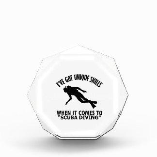 cool Scuba Diving DESIGNS Acrylic Award