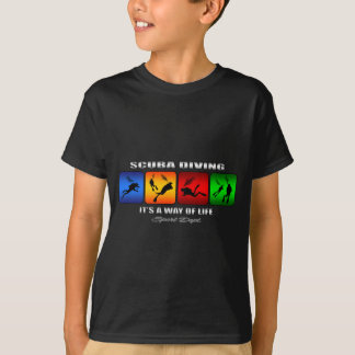 Cool Scuba Diving It Is A Way Of Life T-Shirt