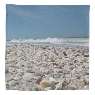 beach print bedding