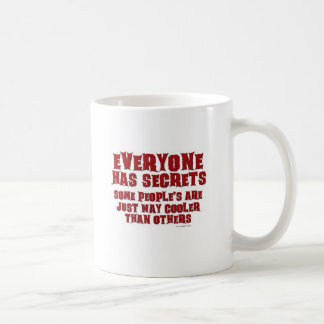 Cool Secrets Coffee Mug