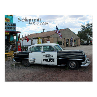 Cool Seligman Route 66 Postcard! Postcard