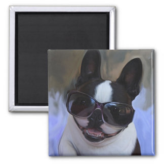 Cool Shades 2 Inch Square Magnet