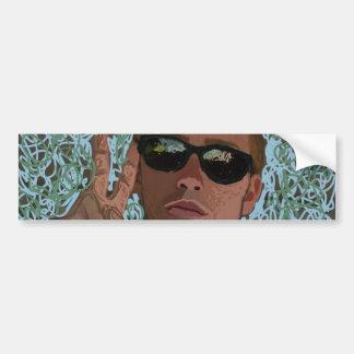 cool shades bumper sticker