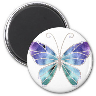 Cool Shades Rainbow Wings Butterfly Magnet