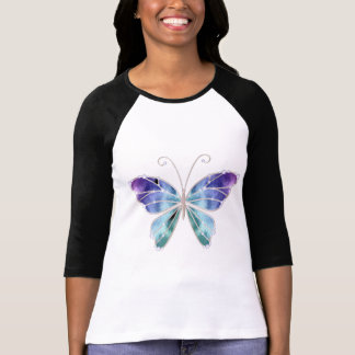 Cool Shades Rainbow Wings Butterfly T-Shirt