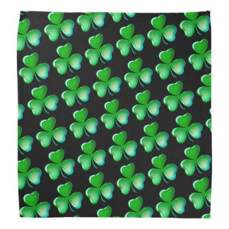 Cool shamrock pattern bandana