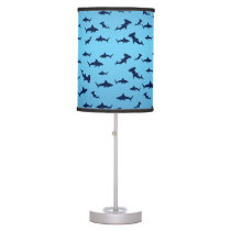 Cool Sharks and Hammerheads Table Lamp