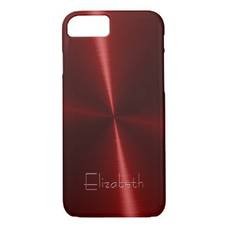 Cool Shiny Radial Steel Metal iPhone 7 Case