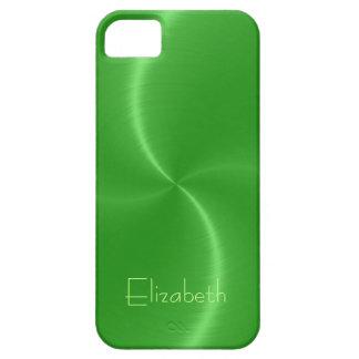 Cool Shiny Radial Steel Metallic iPhone SE/5/5s Case