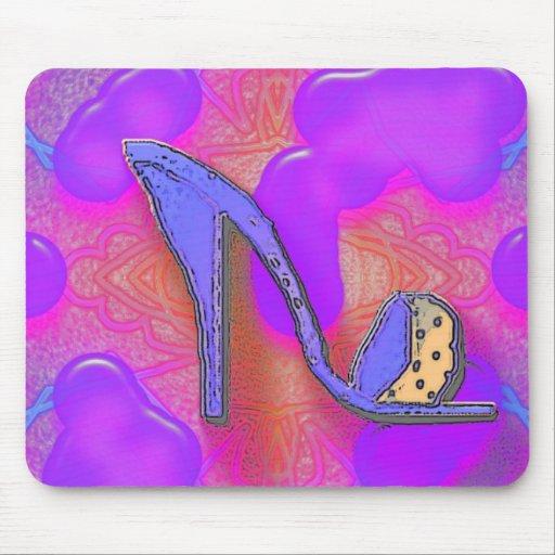 cool shoe mouse pad zazzle. Black Bedroom Furniture Sets. Home Design Ideas