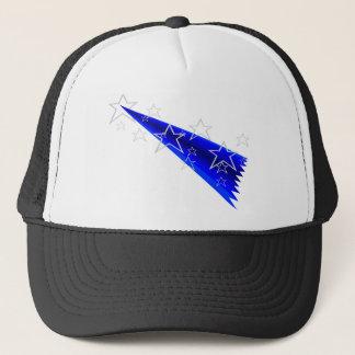 Cool shooting stars design trucker hat