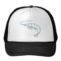 Cool Shrimp Icon Logo Shirt Prawn Trucker Hat