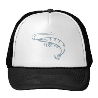 Cool Shrimp Icon Logo Shirt Prawn Trucker Hat