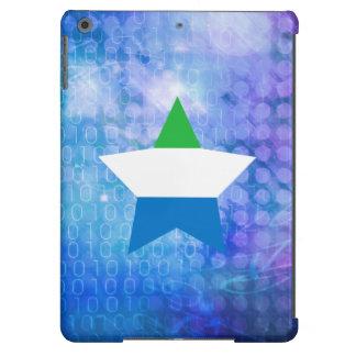 Cool Sierra Leone Flag Star Case For iPad Air