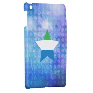 Cool Sierra Leone Flag Star iPad Mini Cover