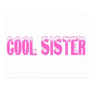 Cool Sister (Pink) Post Card