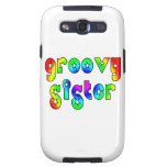 Cool Sisters Birthdays Christmas : Groovy Sister Galaxy SIII Case