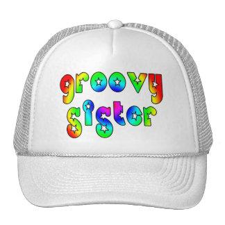 Cool Sisters Birthdays Christmas : Groovy Sister Trucker Hat